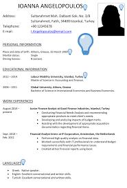 Cv Exemplars Turkey Cv Sample Careerprofessor Works
