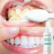 BAIMISS <b>Fresh Shining Tooth</b>-<b>Cleaning</b> Mousse <b>Toothpaste</b> Teeth ...