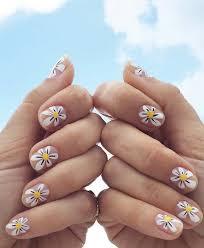 Easy Summer Nail Art Daisy Nail Art Ideas Cute Summer Nail Designs With Floral
