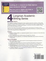 buy longman academic writing series essays book online at low  buy longman academic writing series 4 essays book online at low prices in longman academic writing series 4 essays reviews ratings in
