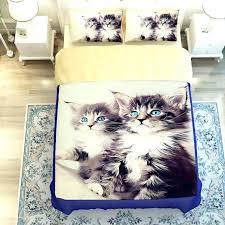 um image for duvet cover size ikea 3d oil twin size cat bed linen3 4pc duvet