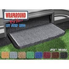 prest o fit wraparound plus rv step rug gray nt04 0349 rv