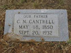 Charles Nathaniel Cantrell (1850-1932) - Find A Grave Memorial