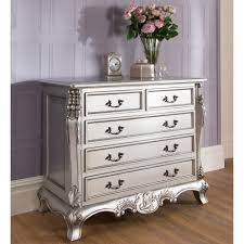 silver chest of drawers. La Rochelle Antique French Style Chest With Silver Of Drawers