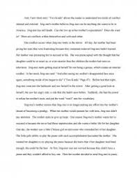 internal and external conflict amy tan s two kinds research paper zoom zoom