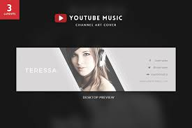 Youtube Template Psd 35 Amazing Free Youtube Banner Templates Psd Download