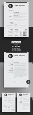 best minimal resume templates design graphic design junction 50 best minimal resume templates 12
