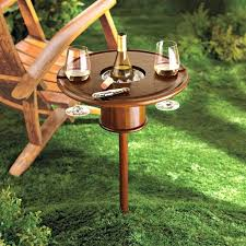 outdoor wine glass holder clever gifts for people who love to drink outdoor wine glass holder australia