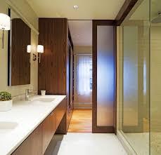 bathroom pocket doors. Modern Bathroom Design Ideas Showcasing Wooden Pocket Door With Frosted Glass Panels And Room Divider Doors O