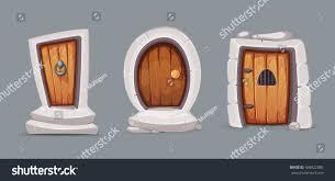 Medieval Doors vector illustration set cartoon medieval doors stock vector 3467 by guidejewelry.us