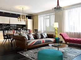 Living Room Artwork Decor Modern Apartment Design With Pop Artwork Style Decor Looks More