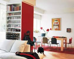 Decorating Ideas For Interior House With Red Accents