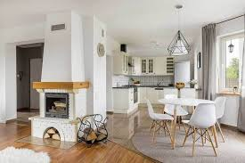 covering the entire room with the rug can create a feeling of suffocation the best way to have a lovely dining room is to have a correct