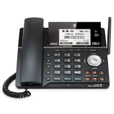 2 line connect to cell corded cordless phone system with caller id call waiting