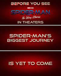 Spider-Man 3: No Way Home Teased as ...