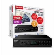 Отзывы о <b>Цифровой</b> ресивер <b>DVB</b>-<b>T2 D</b>-<b>Color</b> DC1802HD