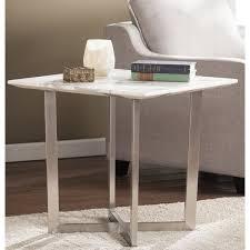 incredible brayden studio rosenbalm faux marble end table reviews wayfair marble end tables plan