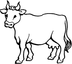 Small Picture Picture of Milch Cow Coloring Page NetArt