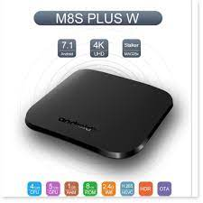 Android TV box 4K CPU Quad Core 64bit Android 7.1 hàng cao cấp