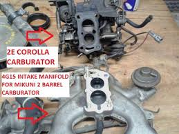 What's the difference between 2E Carburator of Big Body and Small Body?