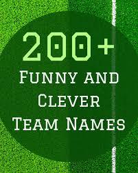 ultimate frisbee team names