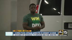 Arizona Correctional Officer Prison Guard Accused Of Scheming To Take Bribes Youtube