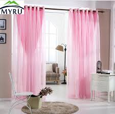 MYRU Pastoral Lace Curtains Romantic Living Room Bedroom Curtains Pink  Curtains For Girls Bedroom Free Shipping In Curtains From Home U0026 Garden On  ...