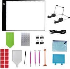 Diamond Painting Light Box Caingmo 26pcs Diamond Painting Light Board A4 Portable Led
