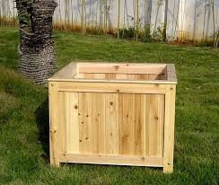 large wooden planter boxes 33 best wood planter tree box images on wood planters