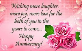 Wishes Happy Anniversary Both Of You ...
