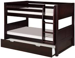 viv  rae isabelle low twin bunk bed with trundle  reviews  wayfair