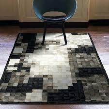 cowhide patchwork rug black and grey cowhide patchwork rug cowhide patchwork rugs australia
