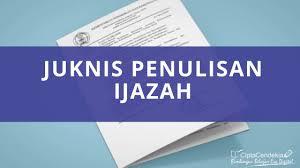 We did not find results for: Juknis Penulisan Ijazah 2021 Sd Smp Sma Terbaru Ciptacendekia Com