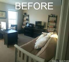 office guest room ideas. Enchanting Office Guest Room Makeover My Before Picturesmall Home Ideas Picture Small . P