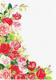 Birthday Flowers Background Design Floral Wedding Invitation Background