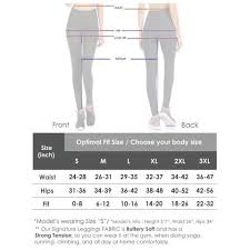 Viv Collection Size Chart Viv Collection Signature Leggings Ultra Soft Yoga Waistband W Hidden Pocket