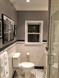 remodeled bathrooms with tile. 1920s Bathroom Remodel | Subway Tile Penny Floor: Remodeled Bathrooms With