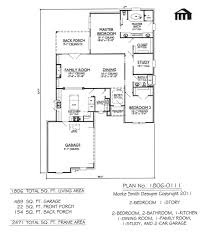 Amazing Simple 3 Bedroom House Plans With Garage Small Under Sq Ft Small Home Plans With Garage