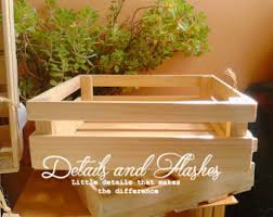 Large Wooden Boxes To Decorate Wooden crates wood decoration for wedding and by DetailsandFlashes 55