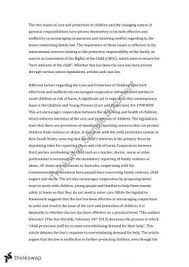 changing nature of parental responsibility essay year  care and protection of children changing nature of parental responsibilities essay