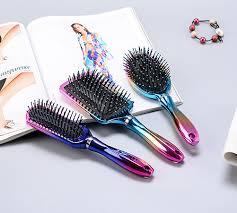 plastic hair brush wooden brush