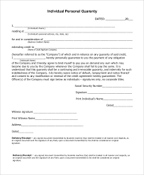 21 Sample Letters Of Guarantee Pdf Word Apple Pages