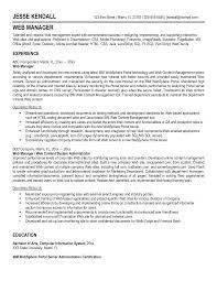 Download Web Administration Sample Resume Haadyaooverbayresort Com