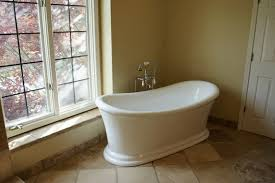 how to add a shower to a freestanding tub bathroom