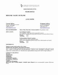 50 Unique Basic Sample Of Resume Resume Templates Blueprint