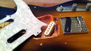 how to change out pickups on fender telecaster