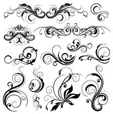 Gallery For Oval Filigree Frame Tattoo Clip Art Library