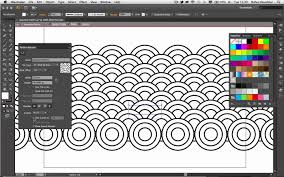 How To Create Pattern In Illustrator New Create A Japanese Pattern With Adobe Illustrator CS48 Drawing