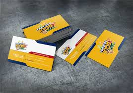 Playful Colorful Club Business Card Design For A Company By Pro