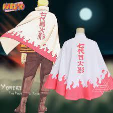 Áo choàng hóa trang nhân vật phim hoạt hình Naruto cao cấp, Giá tháng 4/2021